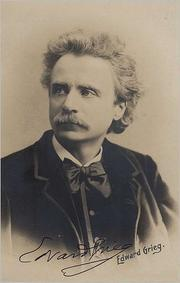 Photo of Edvard Grieg