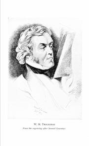 Photo of William Makepeace Thackeray