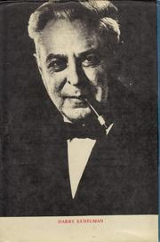 Photo of Harry Kemelman