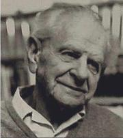 Photo of Karl Raimund Popper