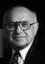 Photo of Milton Friedman