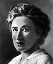 Photo of Rosa Luxemburg