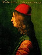 Photo of Giovanni Pico della Mirandola