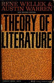 Resultado de imagen de Theory of Literature 1949