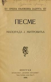 MILORAD MITROVIC PESME EBOOK