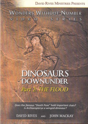 Dinosaurs downunder (DVD) : Part 2 [of 3] : The Flood (Wonders without number video series) / David Rives and John Mackay.