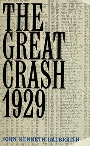 the great crash by john kenneth galbraith thesis 1929 stock market crash research papers disucss a preview of an order placed for clear thesis statement written the great crash 1929 by john kenneth galbraith.