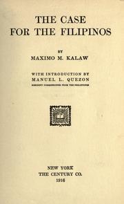 my ideal university maximo kalaw