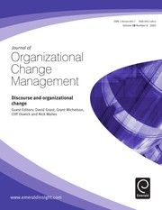 Discourse and organizational change