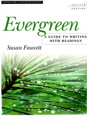 Evergreen; a Guide to Writing with Readings