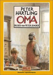 Cover of: Oma by Peter Härtling