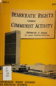 Democratic rights versus communist activity.