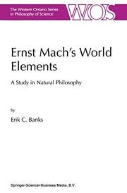 Ernst Machs World Elements