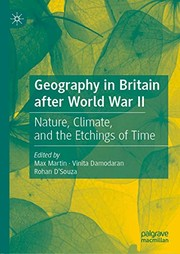 Geography in Britain after World War II