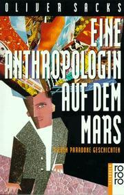 Eine Anthropologin auf dem Mars. Sieben paradoxe Geschichten.