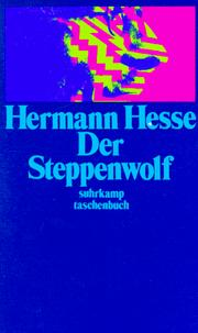 Der Steppenwolf by Hermann Hesse