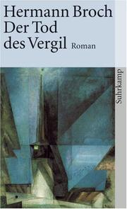 Der Tod des Vergil by Hermann Broch