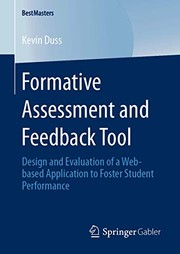 Formative Assessment and Feedback Tool