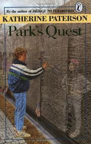 Park&#39;s quest by Katherine Paterson