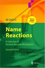Name reactions by Jie Jack Li