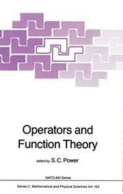 Operators and Function Theory