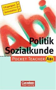 Pocket Teacher Abi, Politik / Sozialkunde PDF