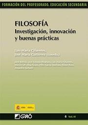 Filosofía. Investigación, innovación y buenas prácticas