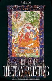 A history of Tibetan painting by David Paul Jackson