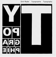 Typographie by Emil Ruder