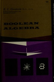 Boolean algebra.