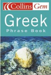 Gem Greek Phrase Book PDF