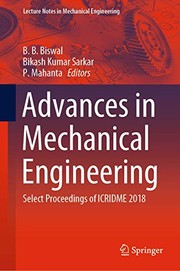 Advances in Mechanical Engineering