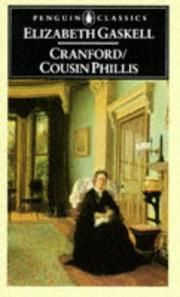 Cover of: Cranford/Cousin Phillis by Elizabeth Cleghorn Gaskell