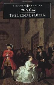 Cover of: The beggar's opera by Gay, John