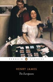 The Europeans by Henry James, Jr.
