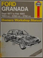 Ford Granada 1977-85 Owners Workshop Manual