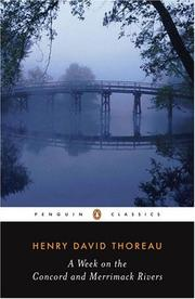 Cover of: A week on the Concord and Merrimack rivers by Henry David Thoreau