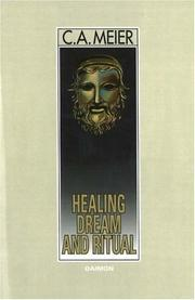 Healing Dream and Ritual by C. A. Meier