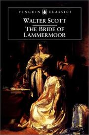 The bride of Lammermoor by Sir Walter Scott