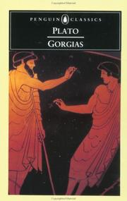 Cover of: Gorgias by Plato