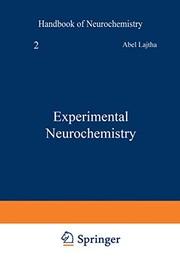 Experimental Neurochemistry