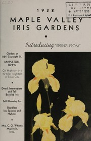 Maple Valley Iris Gardens, 1938