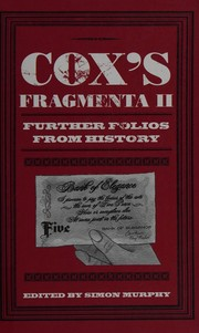 Coxs Fragmenta II