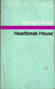 Cover of: Heartbreak House by George Bernard Shaw