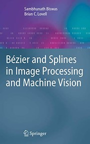 Bézier and Splines in Image Processing and Machine Vision