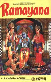 Ramayana by C. Rajagopalachari