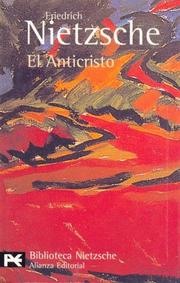 El anticristo by Friedrich Nietzsche
