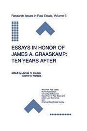 Essays in Honor of James A. Graaskamp