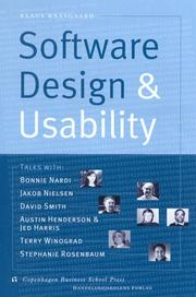 Software design and usability by Klaus Kaasgaard