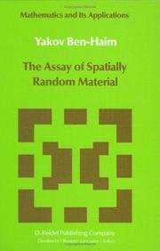 The assay of spatially random material by Yakov Ben-Haim